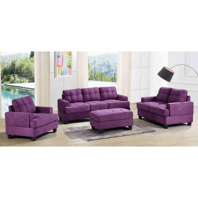 G517 Living Room Set (Purple)