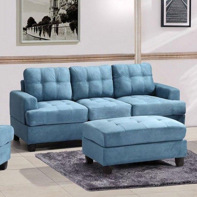 G518 Sofa (Aqua)