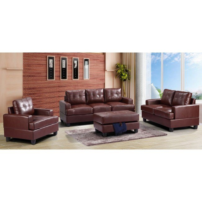 G580 Living Room Set (Brown)