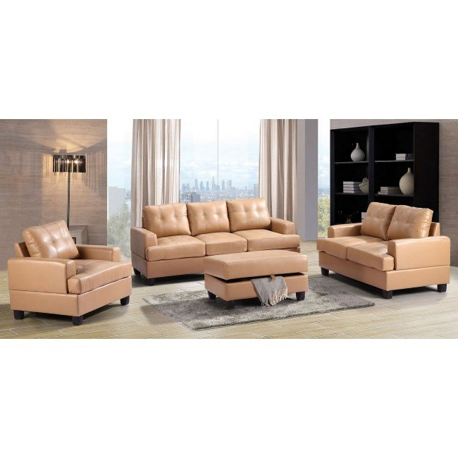 G581 Living Room Set (Tan)