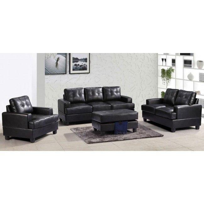 G583 Living Room Set (Black)