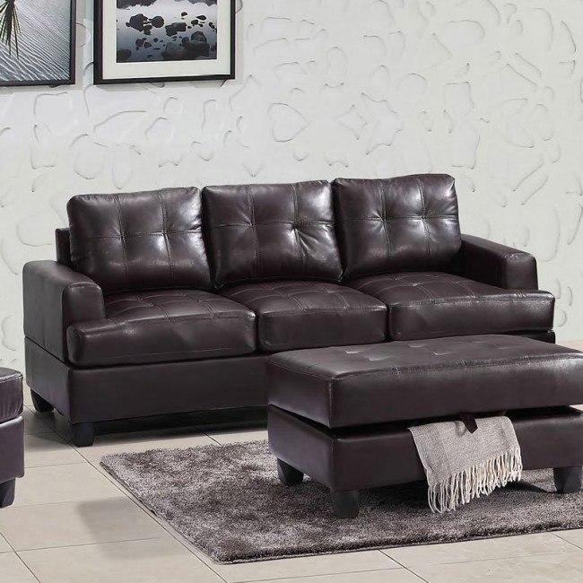 G585 Sofa (Cappuccino)