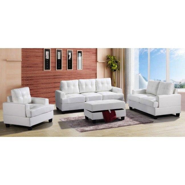 G587 Living Room Set (White)