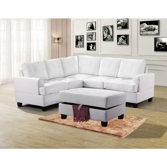 G587 Sectional Set (White)