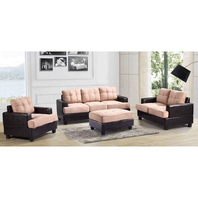 G588 Living Room Set (Mocha)