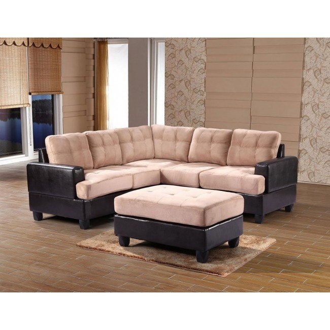 G588 Sectional Set (Mocha)