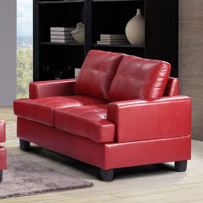 G589 Loveseat (Red)