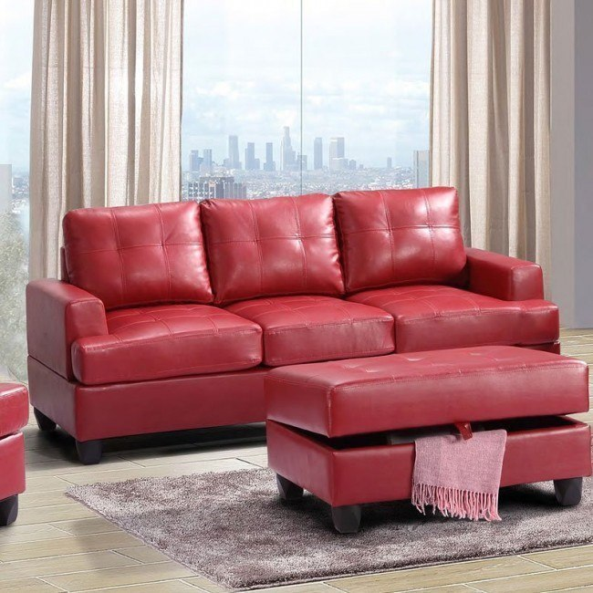 G589 Sofa (Red)
