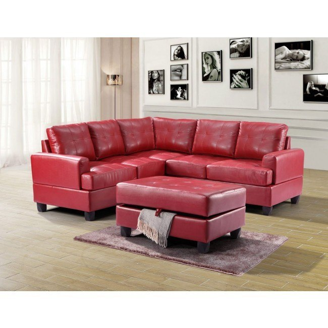 G589 Sectional Set (Red)