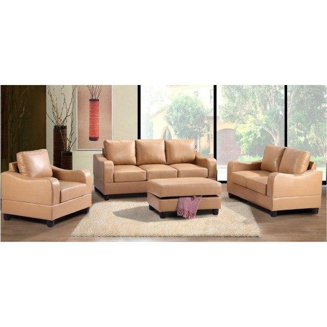G621 Living Room Set (Tan)