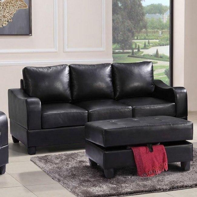 G623 Sofa (Black)