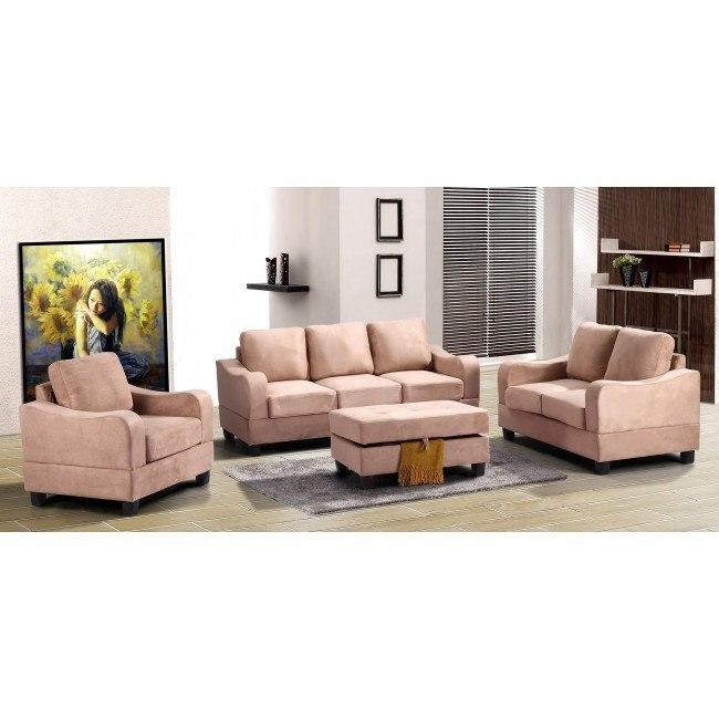 G624 Living Room Set (Mocha)