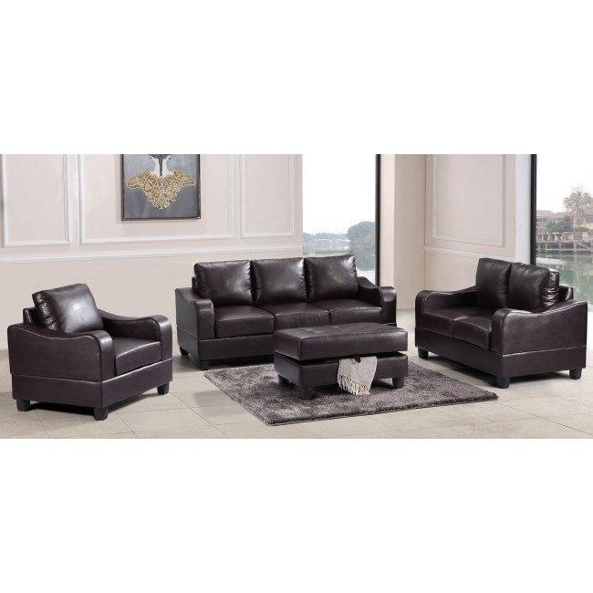 G625 Living Room Set (Cappuccino)