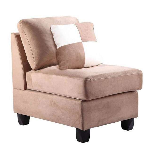 G634 Armless Chair (Mocha)