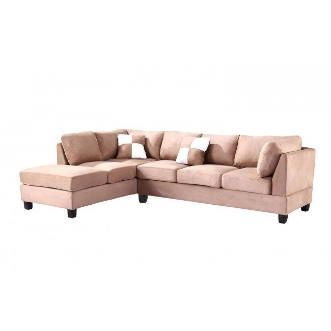 G634 Reversible Sectional (Mocha)