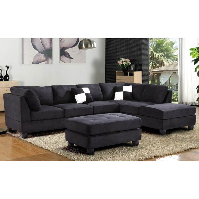G635 Reversible Sectional Set (Black)