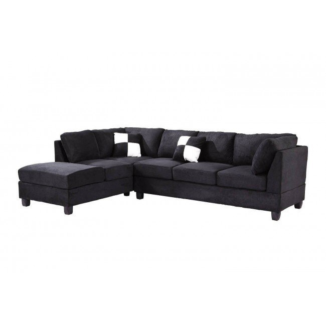 G635 Reversible Sectional (Black)