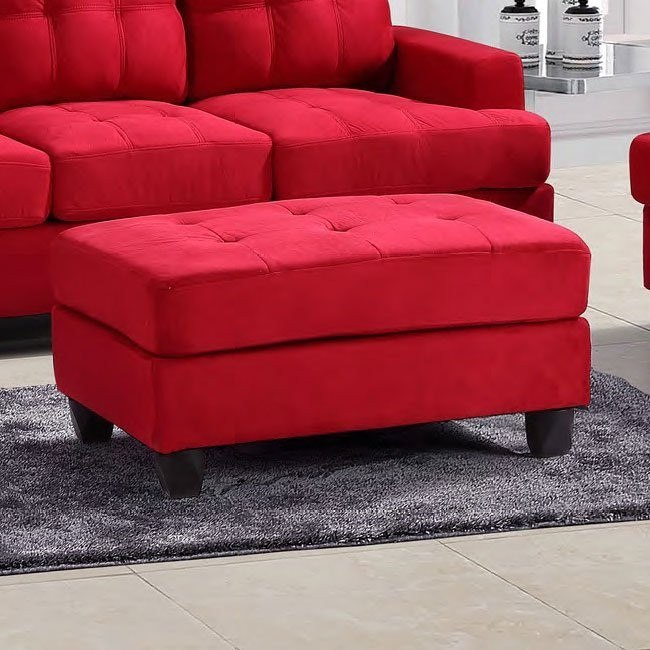 G636 Ottoman (Red)