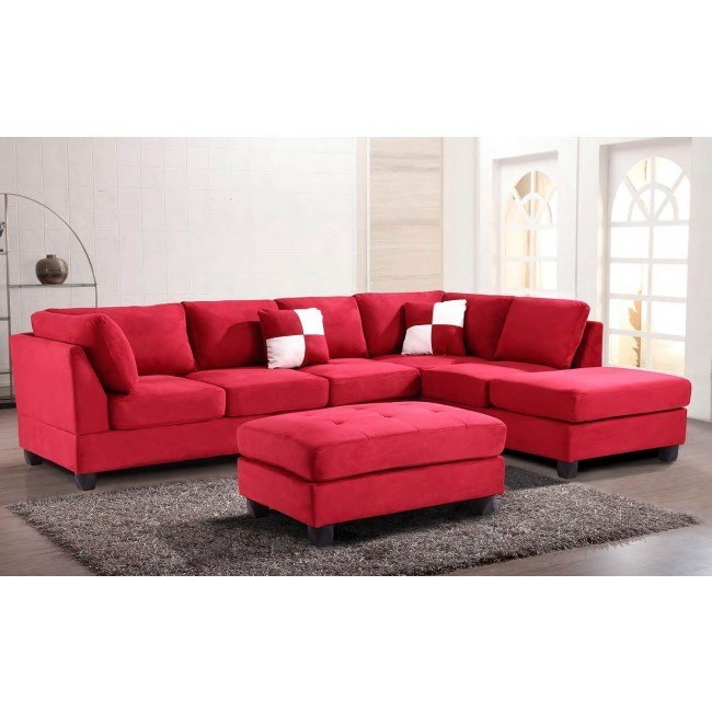 G636 Reversible Sectional Set (Red)