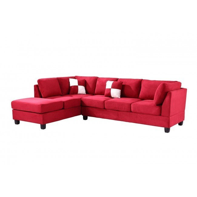 G636 Reversible Sectional (Red)