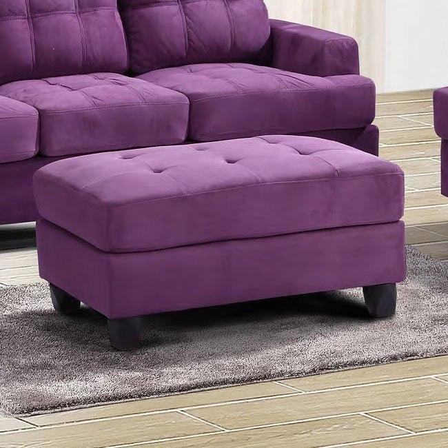 G637 Ottoman (Purple)