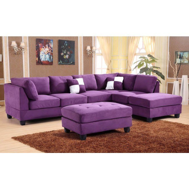 G637 Reversible Sectional Set (Purple)