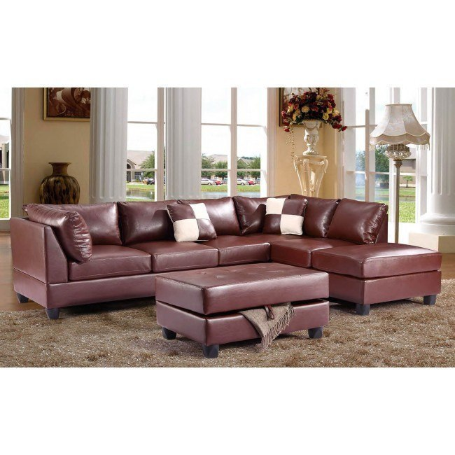 G640 Reversible Sectional Set (Brown)