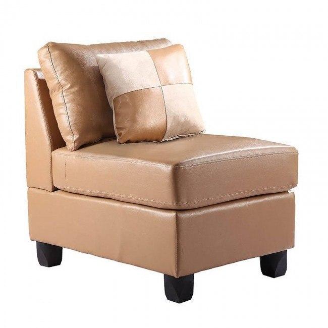 G641 Armless Chair (Tan)