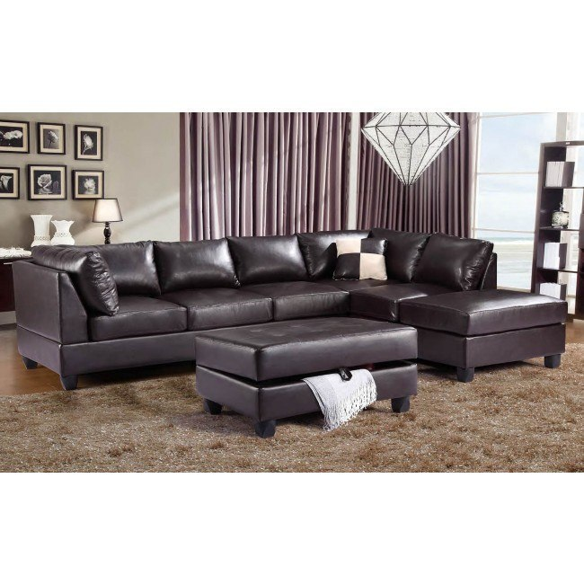 G645 Reversible Sectional Set (Cappuccino)