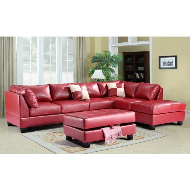 G649 Reversible Sectional Set (Red)