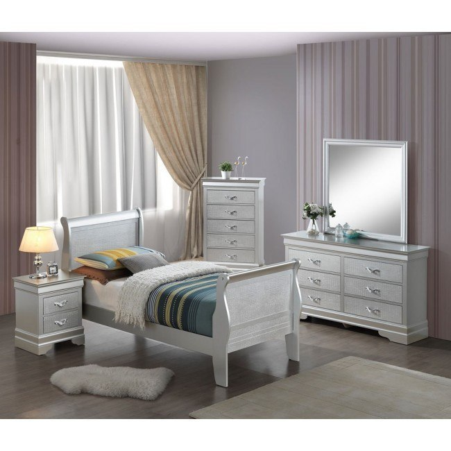 G6500A Youth Sleigh Bedroom Set