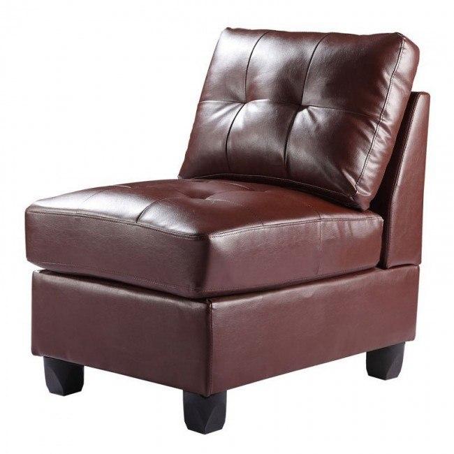 G900 Armless Chair (Brown)