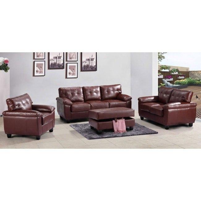 G900 Living Room Set (Brown)