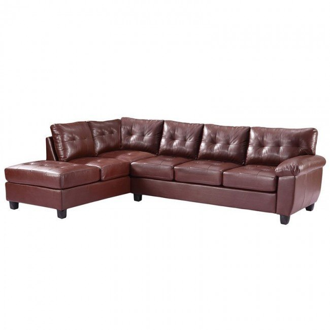 G900 Reversible Sectional (Brown)