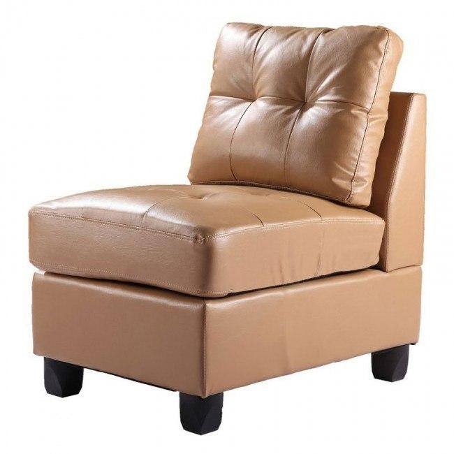 G901 Armless Chair (Tan)