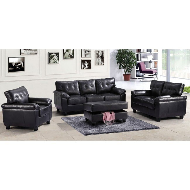 G903 Living Room Set (Black)