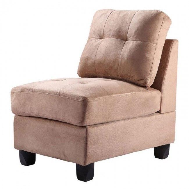G904 Armless Chair (Mocha)