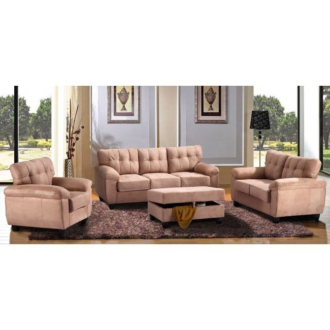 G904 Living Room Set (Mocha)