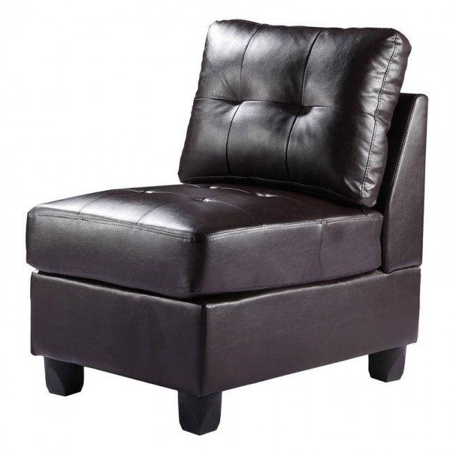 G905 Armless Chair (Cappuccino)