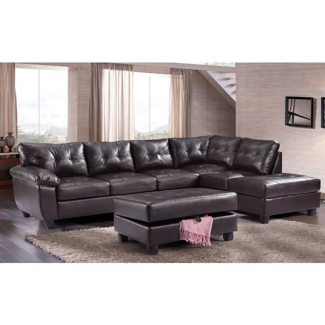 G905 Reversible Sectional Set (Cappuccino)
