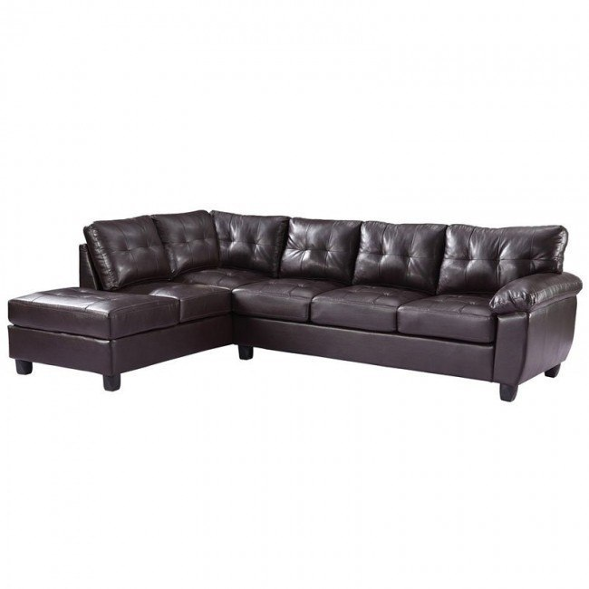 G905 Reversible Sectional (Cappuccino)