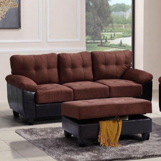 G906 Sofa (Chocolate)