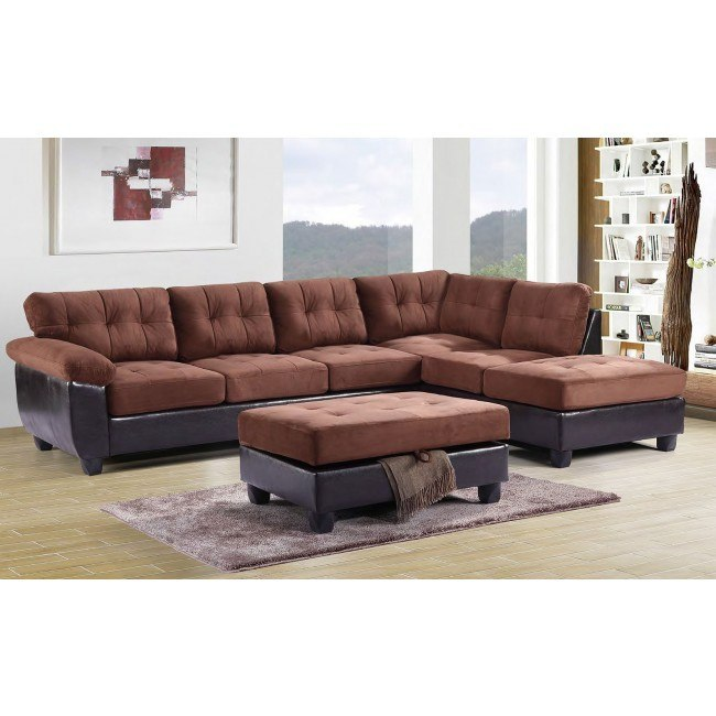 G906 Reversible Sectional Set (Chocolate)