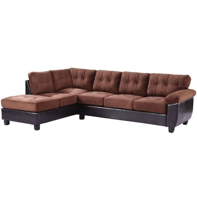 G906 Reversible Sectional (Chocolate)