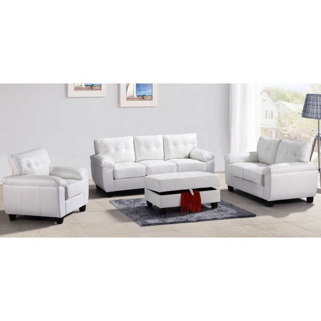 G907 Living Room Set (White)
