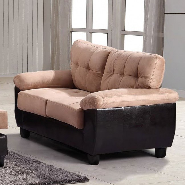 G908 Loveseat (Mocha)