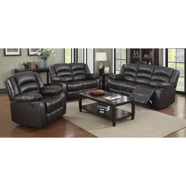 G942 Reclining Living Room Set (Brown)