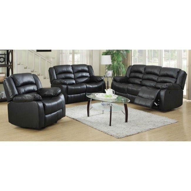 G943 Reclining Living Room Set (Black)