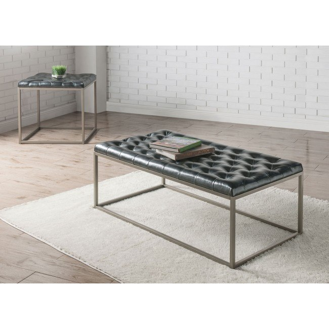 Glenda Occasional Table Set (Black)