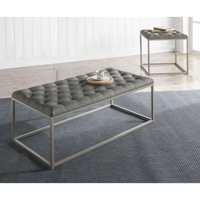 Glenda Occasional Table Set (Grey)